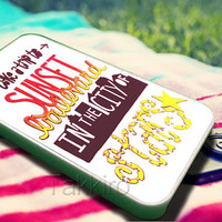 Emblem3 Lyric Case For iphone 4/4s case, iphone 5/5s,iphone 5c, samsung s3 / s4 Case in TAKKIRO