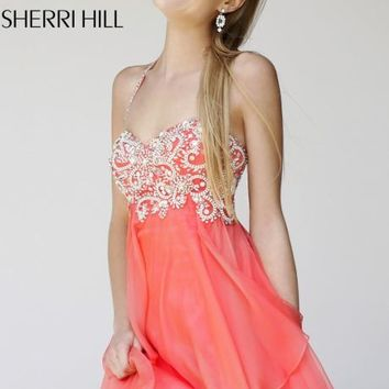 Beaded Cocktail Dress by Sherri Hill