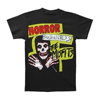 Misfits Men's  Horror Business T-shirt Black