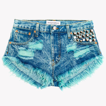 Jewels Neverland Studded Babe Shorts