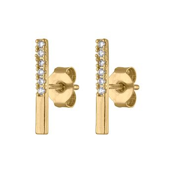 Best Pave Bar Earrings Products on Wanelo dc5c76120392