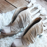 Lambert Fringe Boot, Ivory | Coconuts by Matisse