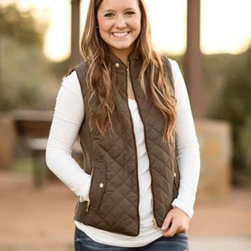 Just Chill'in Vest (Olive)