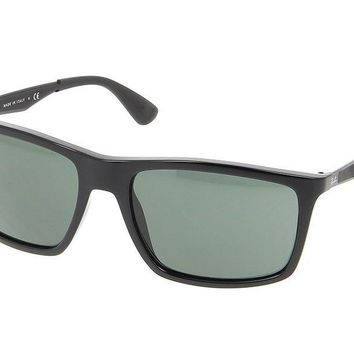 Cheap Ray-Ban RB4228 601/71 Black Frame Green Classic 58mm Lens Sunglasses