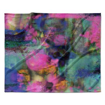 "Nina May ""Palisades"" Multicolor Fleece Throw Blanket"