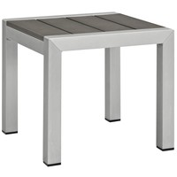 Shore Outdoor Patio Aluminum Side Table EEI-2248