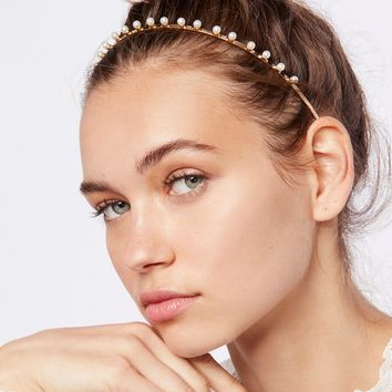 Free People Sleek Pearl Headband