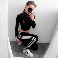 Stretch Hot Sale Sports Women's Fashion Leggings [9698342799]