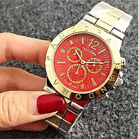 PANDORA Hot Sale Vintage Fashion Watch Round Ladies Women Men wristwatch On Sales Jovial(With Thanksgiving&Christmas Gift ) Red I-Fushida-8899