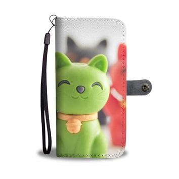 Maneki Neko Phone Wallet Case
