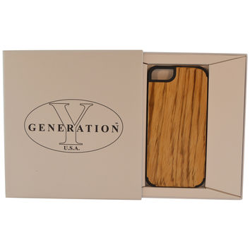 Wooden Case iPhone 6 Bamboo Maple Protective Hard Bumper B Beige
