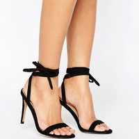 ASOS HENRIETTA Barely There Heeled Sandals at asos.com