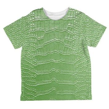CREYCY8 Halloween Alligator Costume All Over Toddler T Shirt