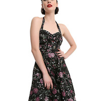 Floral Insect Swing Dress