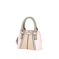 River Island Girls light pink and grey tote bag