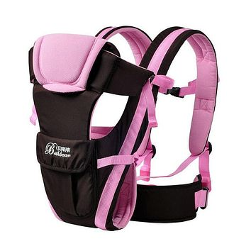 Breathable Multi functional Front Facing Baby Carrier Adjustable Newborn Sling Portable Backpack Pouch kid carriage wrap