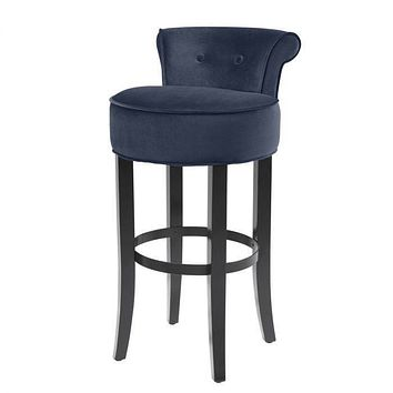 Blue Bar Stool | Eichholtz Sophia Loren