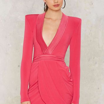 Zhivago Eye of Horus Mini Dress - Pink