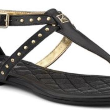 Sperry Top-Sider Summerlin Thong Sandal Black/Studs, Size 7.5M  Women's Shoes