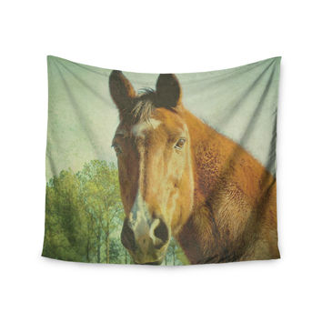 "Robin Dickinson ""CT"" Green Brown Wall Tapestry"