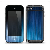 The Dark Blue Streaks Skin for the iPod Touch 5th Generation frē LifeProof Case