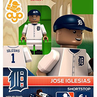 Jose Iglesias Mlb Detroit Tigers Oyo Mini Figure Lego Compatible New G3