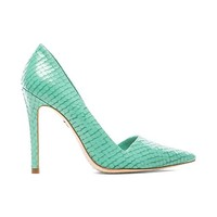 Alice + Olivia Makayla Heel in Mint
