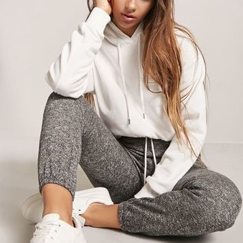 Marled Knit Joggers