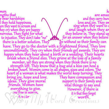 Friend Art, Friend Butterfly Quote Word Art, Unique Handmade Word Art Typography,  PRINTABLE DIGITAL FILE