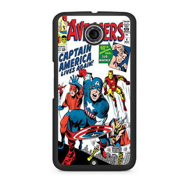 The Avengers Classic Comic Book Nexus 6 case