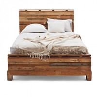 Verge Reclaimed Wood Bed