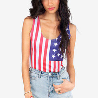 Star Spangled Bodysuit $22