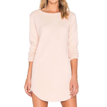 ELLIATT Territory Sweater Dress in Blush
