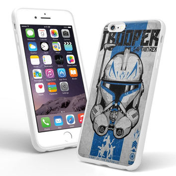 clone trooper captain rex star wars STW iPhone and Samsung Galaxy Case