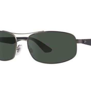 Kalete NEW Ray Ban RB3527 0299A 61 Matte Gunmetal Mens Sunglasses Glasses Polarised