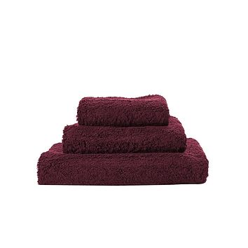 Super Pile Rubis Towels by Abyss and Habidecor