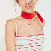 Kimchi Blue Lettuce Edge Striped Cami | Urban Outfitters