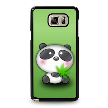 CUTE PANDA BEAR Samsung Galaxy Note 5 Case Cover
