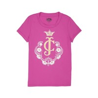 Sweet Berry Girls Logo Jc Boho Cameo Tee by Juicy Couture,