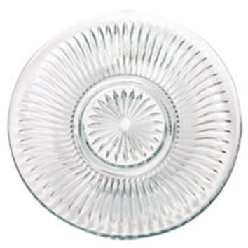 "Bulk Elegant Cut-Glass Dinner Plates, 10"" at DollarTree.com"