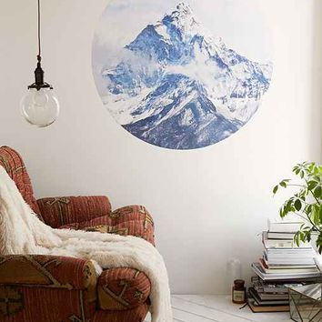 Walls Need Love Ice Capped Mountains Decal- Multi