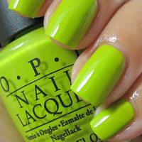 New! OPI ♥ WHO THE SHREK ARE YOU? ♥ Nail Polish~ SHREK COLLECTION!
