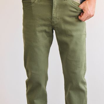 The Best Travel Jeans in the World for Men | Olive Green