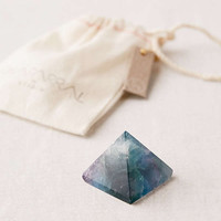 Chaparral Studio X UO Vanquish Bad Vibes Fluorite Crystal Pyramid | Urban Outfitters Canada