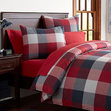 Champion Check Duvet Cover + Sham