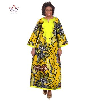 Dashiki Ropa Africa Traditional African Robe Long  African Print Dress