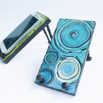 ART Handmade, Samsung Galaxy S3 or S4 Android Phone Stand Docking Station IPhone 4, IPhone5, Droid, Blackberry