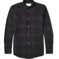 Our Legacy - Overdyed Check Cotton Shirt | MR PORTER