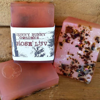 Rose Luv Soap Bar