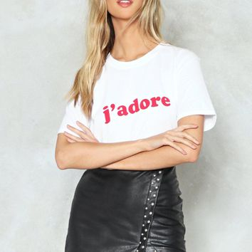 J'adore Relaxed Tee